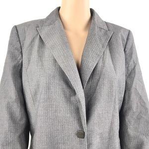 Calvin Klein Jackets Coats Women Long Sleeve Work Blazer 10 Z713